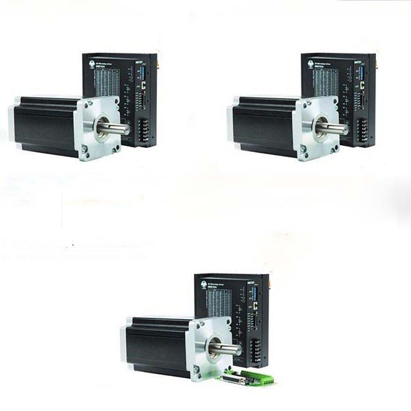 3 Axis Nema 42 stepper motor 3256 oz.in CNC Mill Featured Image