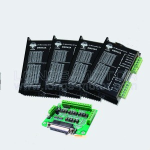 4 Axis Stepper motor driver Peak 4.2A 128 micsteps